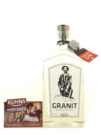 Granit Bavarian Gin 0,7l, alc. 42 Vol.-%, Gin Deutschland