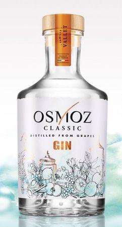 Osmoz Classic Gin 0,7l, alc. 43 Vol.-%, Dry Gin Frankreich