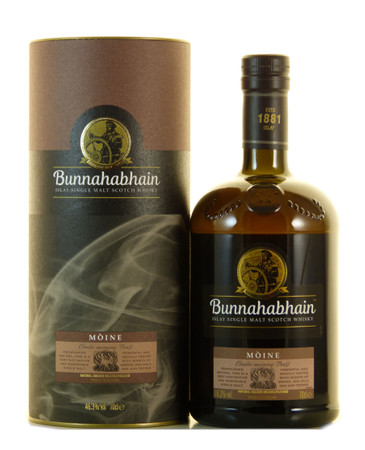 Bunnahabhain Mòine Islay Single Malt Scotch Whisky 0,7l, alc. 46,3 Vol.-%
