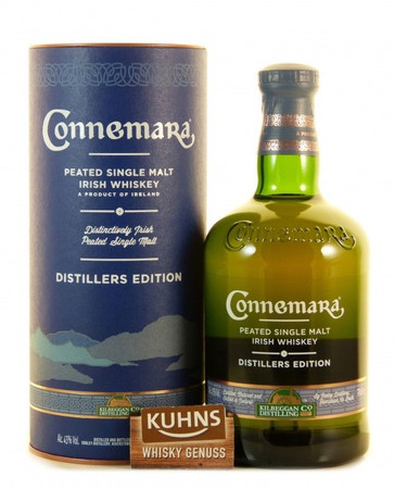Connemara Distillers Edition Peated Single Malt Irish Whiskey 0,7l, alc. 43 Vol.-%