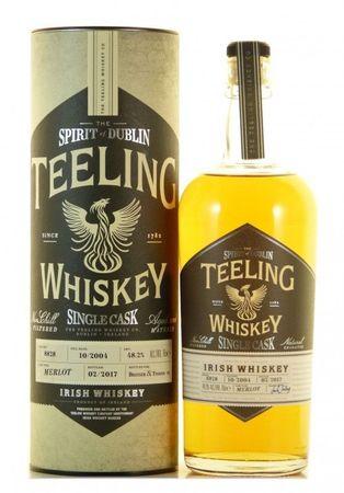 Teeling Single Cask Merlot Irish Whiskey 0,7l, alc. 48,2 Vol.-%