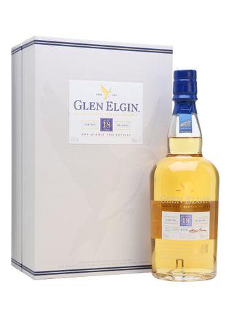 Glen Elgin 18 Jahre Speyside Single Malt Scotch Whisky 0,7l, alc. 54,8 Vol.-%