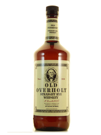 Old Overholt Straight Rye Whiskey 1,0l, alc. 40 Vol.-%, USA Whiskey