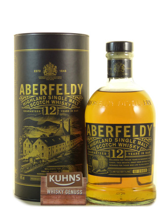 Aberfeldy 12 Jahre Highland Single Malt Scotch Whisky 0,7l, alc. 40 Vol.-%