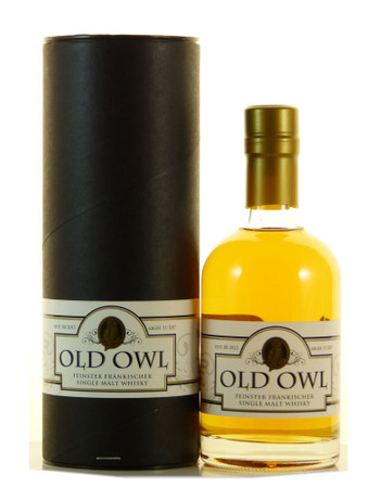 Old Owl 2015 Fränkischer Single Malt Whisky 0,35l, alc. 45,7 Vol.-%