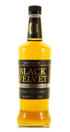 Black Velvet Blended Canadian Whisky 0,7l, alc. 40 Vol.-%