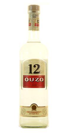Ouzo 12 0,7l, alc. 38 Vol.-%, Griechische Spirituose