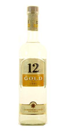 Ouzo 12 Gold 0,7l, alc. 36 Vol.-%, Griechischer Anis-Likör