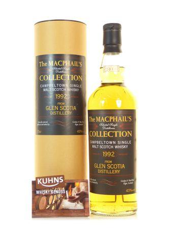 Glen Scotia 1992-2011 Gordon&MacPhail Campbeltown Single Malt Scotch Whisky 0,7l