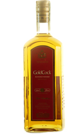 Gold Cock Blended Whisky 3 Jahre 2006, 0,7l, alc. 40 Vol.-%, Tschechien Blended Whisky