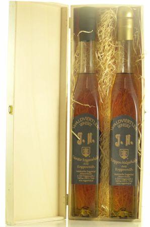 Waldviertler Roggenwhisky Holzkiste 2x0,5l, alc. 41 Vol.-%, Whisky Österreich