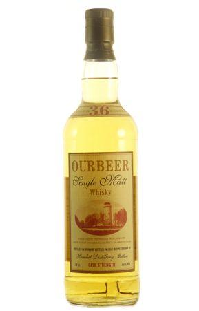 Ourbeer Cask Strength Single Malt Whisky erste Abfüllung, 0,7l, alc. 66 Vol.-%, Whisky Schweiz