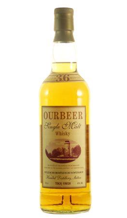Ourbeer Tokaj Finish Single Malt Whisky, 0,7l, alc. 43 Vol.-%, Whisky Schweiz
