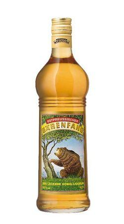Bärenfang Honig-Liqueur 0,7l, alc. 33 Vol.-%, Ostpreussischer Honig-Likör