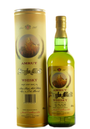 Amrut Single Malt Whisky - ERSTABFÜLLUNG- 25-06-2004 0,7l, alc. 40 Vol.-%