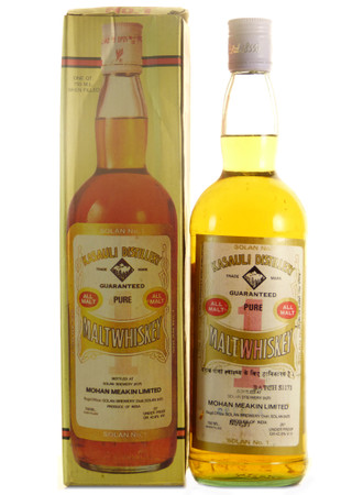 Kasauli Mohan Meakin Limited Pure Malt Whisky 0,7l, alc. 40 Vol.-%, Whisky Indien