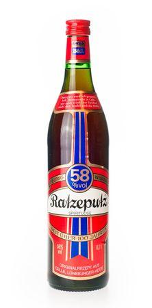 Ratzeputz 0,7l alc. 58 Vol.-%, Kräuterschnaps
