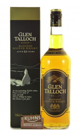 Glen Talloch Gold 12 Jahre Blended Scotch Whisky 0,7l, alc. 40 Vol.-%
