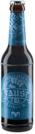 Faust Eisbock Craftbier 0,33l, alc. 12 Vol.-%, Craft Beer aus Deutschland