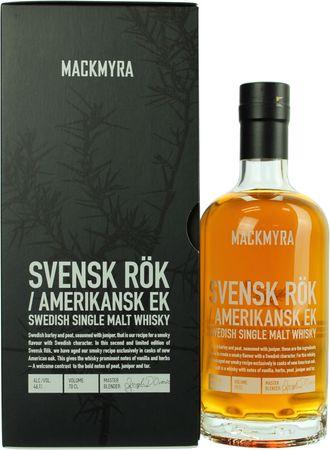 Mackmyra Svensk Rök Amerikansk Ek Swedish Single Malt Whisky 0,7l, alc. 46,1 Vol.-%