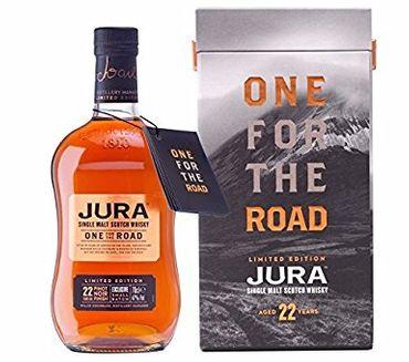 Isle of Jura 22 Jahre One for the Road Single Malt Scotch Whisky 0,7l, alc. 47 Vol.-%