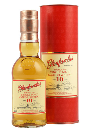 Glenfarclas 10 Jahre Speyside Single Malt Scotch Whisky 0,2l, alc. 40 Vol.-%