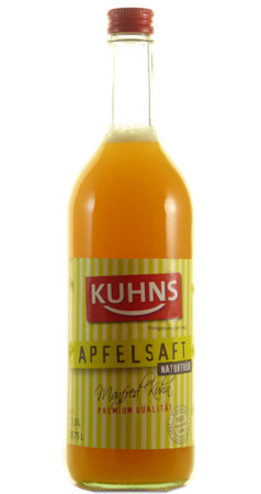 Kuhns Naturtrüber Apfelsaft Bio 0,75l