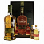 Tomatin 12 Jahre Geschenkbox mit 2 Miniaturen Single Malt Scotch Whisky 0,7l, alc. 43 Vol.-% 001