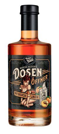Dosenöffner Pfirsich-Likör 0,35l, alc. 20 Vol.-%