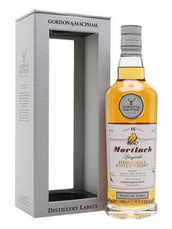Mortlach 15 Jahre Distillery Label Gordon&MacPhail Speyside Single Malt Scotch Whisky 0,7l