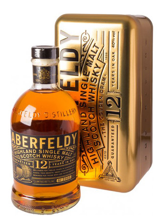 Aberfeldy 12 Jahre Nugget Edition Highland Single Malt Scotch Whisky 0,7l, alc. 40 Vol.-%