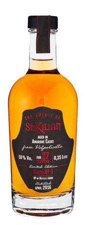 The Spirit of St. Kilian Batch No 5 -  Aged in Amarone Casks, 0,35l, alc. 50 Vol.-%, Deutscher Spirit