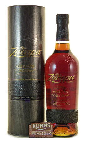 Zacapa Edicion Negra 0,7l, alc. 43 Vol.-%, Rum Guatemala