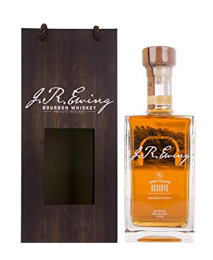 J.R. Ewing Private Reserve Geschenkpackung Bourbon Whiskey 0,7l, alc. 40 Vol.-%