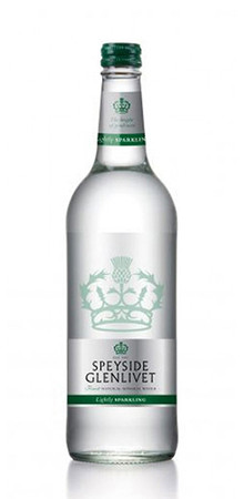 Speyside Glenlivet Lightly Sparkling Mineral Water 0,33l