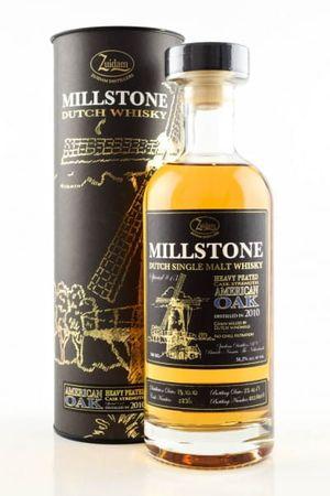 Zuidam Millstone 7 Jahre Heavily Peated Single Malt Whisky 0,7l, 51,2 Vol.-%, Whisky Niederlande