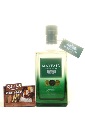 Mayfair London Dry Gin 0,7l, alc. 40 Vol.-%, Dry Gin England