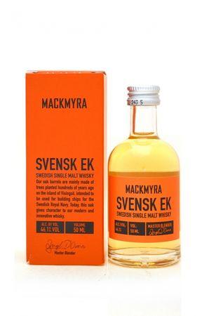 Mackmyra Svensk EK Miniatur  Swedish Single Malt Whisky, 0,05l, alc. 46,1 Vol.-%