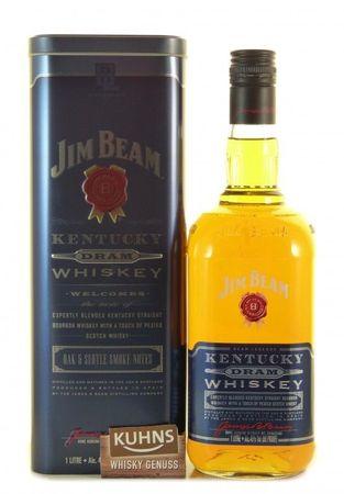 Jim Beam Kentucky Dram 1,0l, alc. 40 Vol.-%, Blended Kentucky Bourbon/Scotch Whiskey