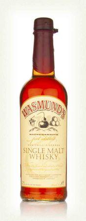 Wasmund's Single Malt Whisky 0,7l, alc. 48 Vol.-%, USA Single Malt Whisky