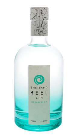 Shetland Reel Ocean Sent Gin 0,7l, alc. 49 Vol.-%, Gin Schottland