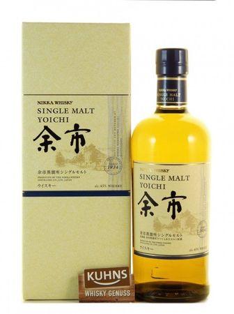 Nikka Yoichi Single Malt 0,7l, alc. 45 Vol.-%, Japan Single Malt Whisky