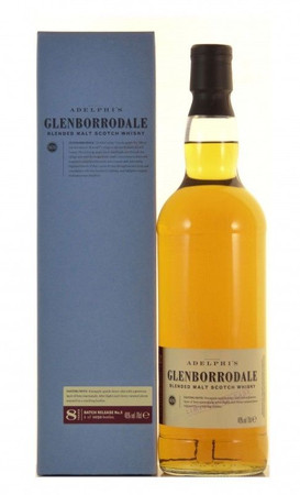 Adelphi Glenborrodale 8 Jahre Batch No.6 Blended Scotch Whisky 0,7l, alc. 46 Vol.-%