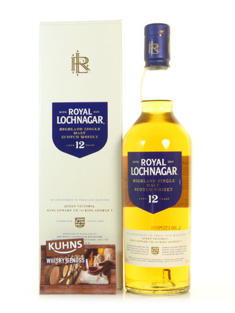 Royal Lochnagar 12 Jahre Highland Single Malt Scotch Whisky 0,7l, alc. 40 Vol.-%