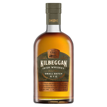 Kilbeggan Small Batch Rye Irish Whiskey 0,7l, alc. 43 Vol.-%