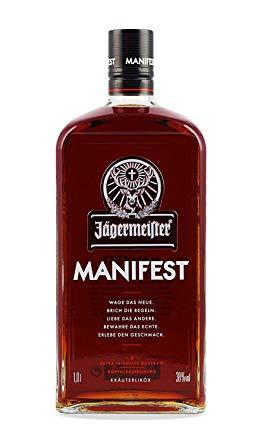 Jägermeister Manifest 1,0l alc. 38 Vol.-%