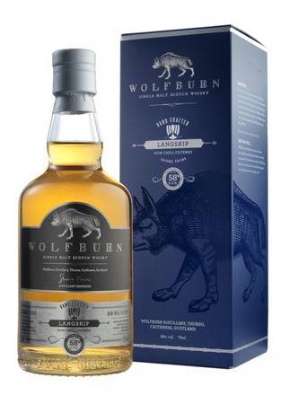 Wolfburn Langskip Single Malt Scotch Whisky 0,7l, alc. 58 Vol.-%