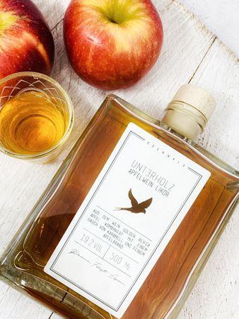 Unterholz Apfelwein Likör 0,5l, alc. 22 Vol.-%