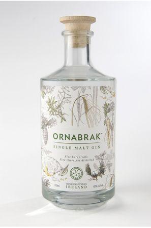 Ornabrak Single Malt Gin 0,7l, alc. 43 Vol.-%, Gin Irland
