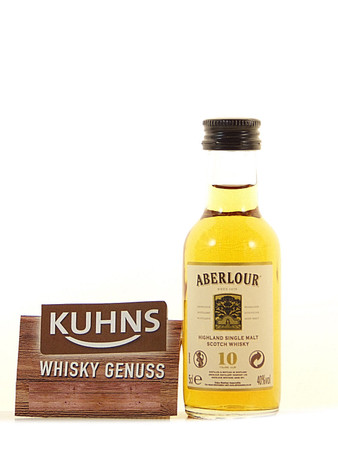 Aberlour 10 Jahre Miniatur 0,05l, alc. 40 Vol.-%, Speyside Single Malt Scotch Whisky